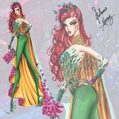 Poison Ivy - batman villains