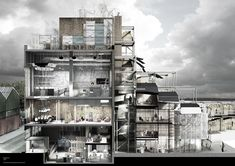architectural-review: Chris Parrott 'All Watched Overy by Machines of Loving Grace' University of Sheffield Tutor: Carolyn Butterworth