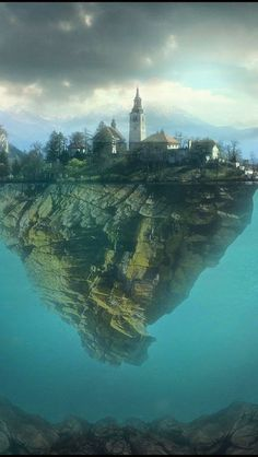 Lake Bled is a lake in the Julian Alps in northwestern Slovenia, where it adjoins the town of Bled. The area is a popular tourist. Oh The Places You'll Go, Places To Travel, Places To Visit, Wonderful Places, Beautiful Places, Bled Slovenia, 3d Art, Bohinj, Lake Bled