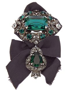Lanvin Crystal Brooch - so much very wanting now