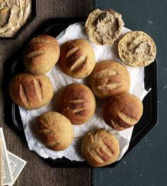 Joulusämpylät   Suolainen leivonta   Soppa365 Feta, Muffin, Breakfast, Morning Coffee, Muffins, Cupcakes