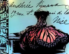 butterfly wings...