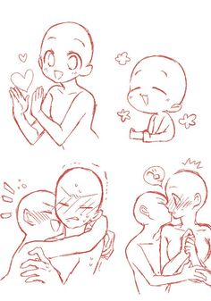 Ok. I'm gonna say,the one on the bottom right,the person getting kissed looks like: THE FUCK?!...I'm enjoying this...
