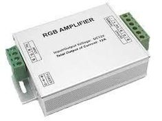 LED Lighting RGB-AMP Amplifier for LED RGB Linear Lighting to Extend Beyond Max Run Length