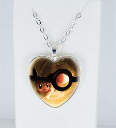 Pokemon Necklace Pokemon Pendant Pokemon Jewelry charm custom picture pendant  #Handmade