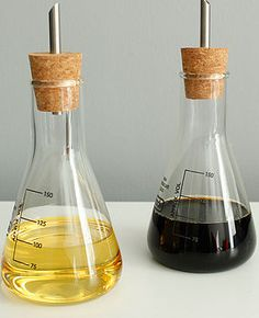 Chemistry Lab Oil And Vinegar Set