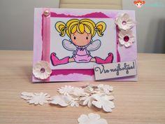 Little fairy birthday card