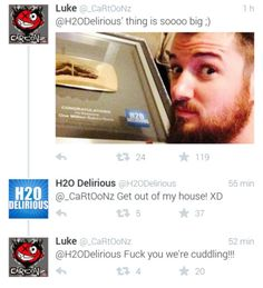 Cartoonz and Delirious' relationship just makes me so happy (^∇^)