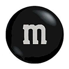 M&M's Milk Chocolate Candy - Black