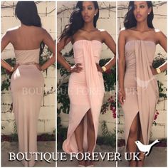 UK WOMENS BODYCON BANDAGE LADIES COCKTAIL EVENING PARTY PROM DRESS SIZE 6 - 14