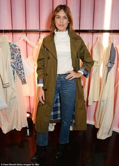 First look at Alexa Chung's fashion range for Marks & Spencer | Daily Mail Online