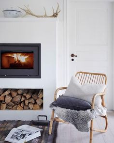 Winter idyll! ⠀ Meet HEATHER pillow via link in bio. ⠀ ⠀ #aiayu #aiayuhome Phot