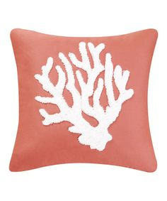 Another great find on #zulily! Coral Reef Pillow #zulilyfinds