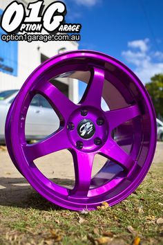 Purple Rota Wheels...why I want these so bad I will never know....