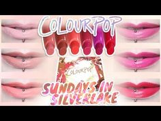 ColourPop Sundays In Silverlake Lippie Stix Set | Dupes! — review, swatches and more!