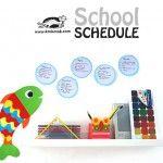 School Schedule – Fish