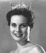 Maria Fletcher, Miss America 1962 - A Miss America Preliminary Competition swimsuit winner, Maria, representing North Carolina went on to become Miss America. Prior to competition, Maria was a Rockette at Radio City Music Hall in New York.