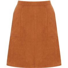 OASIS The Abigail Skirt (1 575 UAH) ❤ liked on Polyvore featuring skirts, natural and orange skirt