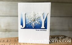 Snowflake Showcase – Ombre Joy