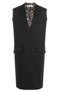 GOLDEN GOOSE Fleece Wool Blend Vest. #goldengoose #cloth #short coat