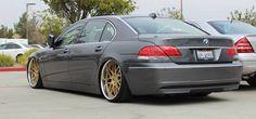 #BMW #745 #Slammed