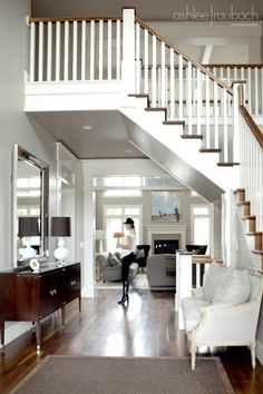 Another great stair case to walk under!!