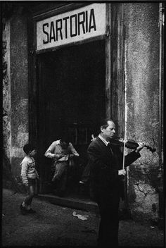 Leonard Freed/Magnum, Naples, probably 1956