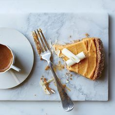 Pumpkin-and-White Chocolate Mousse Pie | Food & Wine
