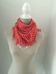 Chal crochet coral