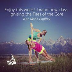 Try out this week's brand new class led by Mona Godfrey.  Have 30 days free on us at yogatoday.com #yoga #yogacore #yogatoday #jacksonhole #vashistasana #sideplank @Simone Toniato Toso