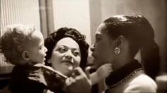 Billie Holiday, ( I Believe it's Maely Bartholomew ) Not Sure her Friend & Her Son Bevan Dufty Billie Holiday's Godson