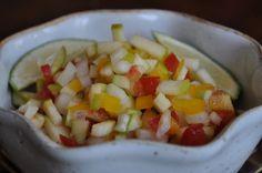 green apple salsa