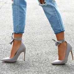 Love http://www.myshoebazar.com/product/lace-up-pointed-toe-ankle-heels/