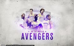 Los Angeles Lakers 2012 Avengers