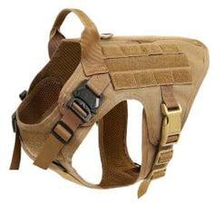 icefang best tactical dog vest unbreakable front buckle