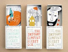 the instant comfort pocket box {match boxes}