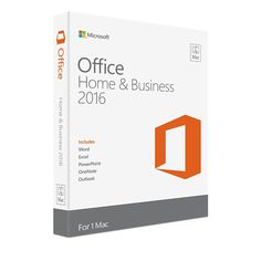Office Home & Business 2016 for Mac は、電子メール、カレンダー、連絡先を利用できる Outlook を含め、Microsoft Office 製品を利用したい Mac ユーザーや小規模ビジネス向けに設計されています。 慣れ親しんだ信頼性の高い Office をアップデートし、最新の Mac 機能 (Retina ディスプレイやフル スクリーン ビューなど) も活用できるようになりました。  OS(オペレーティング システム)Mac OS X 10.10 以上 CPUSSE2 対応の 1GHz以上の Intelプロセッサ メモリ4GB RAM ハードディスクHFS+ フォーマットで 6 GB 画面解像度解像度1280 × 800 以上 その他 ・ Microsoft アカウント ・ インターネット機能にはインターネット接続が必要。  ・ 一部の機能には追加ハードウェアまたは特定のハードウェア、あるいはサービスが必要な場合があります