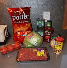 Nacho Dorito Taco Salad - Rose Knows Coupons..this would make a good swim team dinner!!!!