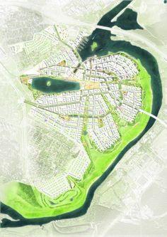 Urban Planning And Landscape Architecture Msu Landscape Diagram, Landscape Plans, Urban Landscape, Landscape Designs, Masterplan Architecture, Architecture Drawings, Landscape Architecture, City Layout, Urban Design Plan