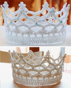 Royal Crochet Crown These crochet patterns are availables for free... Full post: Royal Crochet Crown Patterns