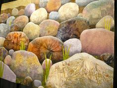 "Chicago International Quilt Festival 2009, ""After the Rains"" by Betty Busby, photo by IamSusie, via Flickr"