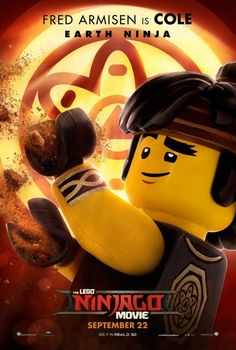 "With the success of ""The LEGO Movie"" and ""The LEGO Batman Movie,"" here comes ""The LEGO Ninjago Movie!"" Check out new character movie posters above: In Ninjago Memes, Lego Ninjago Movie, Lego Batman Movie, Batman Batman, Batman Logo, Cole Ninjago, Ninjago Coloring Pages, Hama Beads Minecraft, Perler Beads"