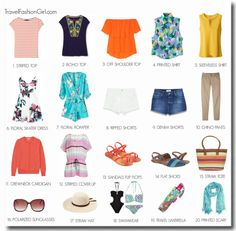 Hawaii Capsule Wardrobe