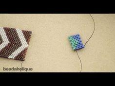 How to Flat Odd-Count Peyote Stitch