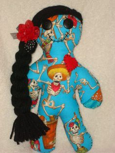 Day of the DEAD DOLL, only $15.00
