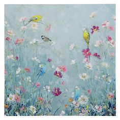 Buy Woodmansterne Birds in a Meadow Greeting Card Online at johnlewis.com