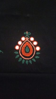 Handmade Embroidery Designs, Peacock Embroidery Designs, Kurti Embroidery Design, Bead Embroidery Patterns, Embroidery Works, Hand Embroidery Videos, Hand Embroidery Tutorial, Embroidery Flowers Pattern, Embroidery Techniques