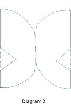 Cake Decorating Butterfly Template : Butterfly template