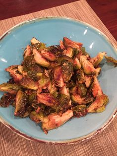 Quick Side: Roasted Garlic Parmesan Brussels Sprouts   work.dinner.family.repeat.