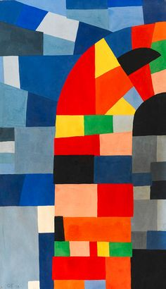 Otto Freundlich, composition, 1938.  Another pinner (with good taste) says : in love with this piece